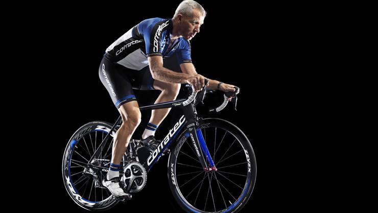 Konrad Irlbacher, Gründer und Namensgeber der Marke corratec, ist ein leidenschaftlicher Radfahrer.