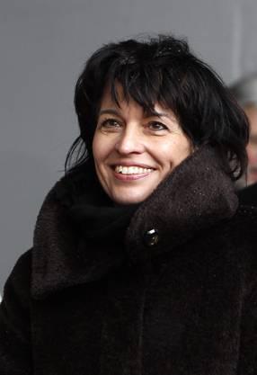 2012: Nun amtet sie als Infrastrukturministerin.