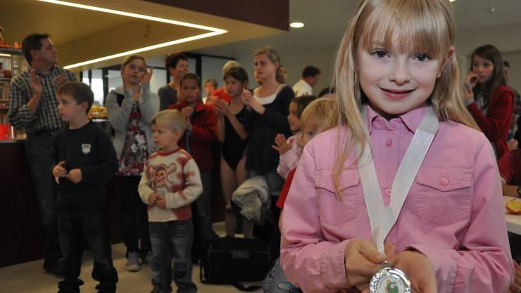 Riana Mueller aus Weiningen holte den 2. Platz.