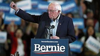In Umfragen liegt er in Nevada vorn: Senator Bernie Sanders.