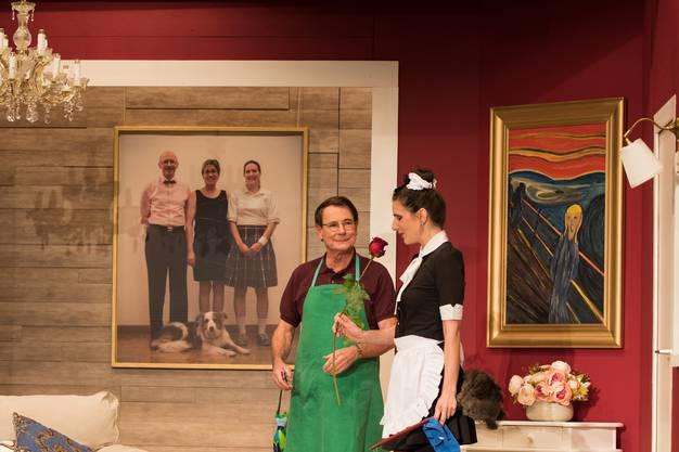 Theatergesellschaft Wettingen 2018 Komödie: Ente gut - alles gut.
