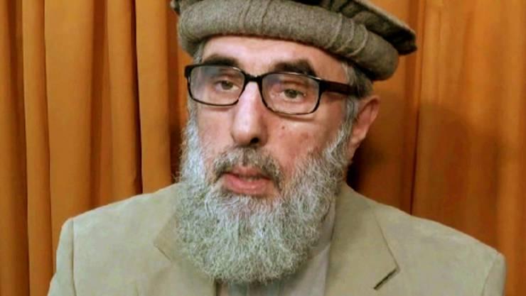 Die afghanische Regierung schliesst Frieden mit Gulbuddin Hekmatjar, einem der brutalsten Kriegsherren in der Geschichte des Landes. (Archiv)