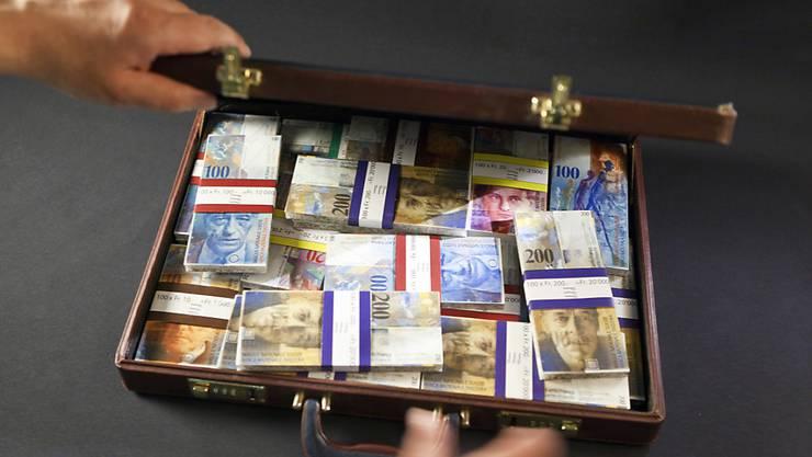 Die laut den mexikanischen Behörden verdächtigen Zahlungen sind über Schweizer Konten abgewickelt worden. (Symbolbild)
