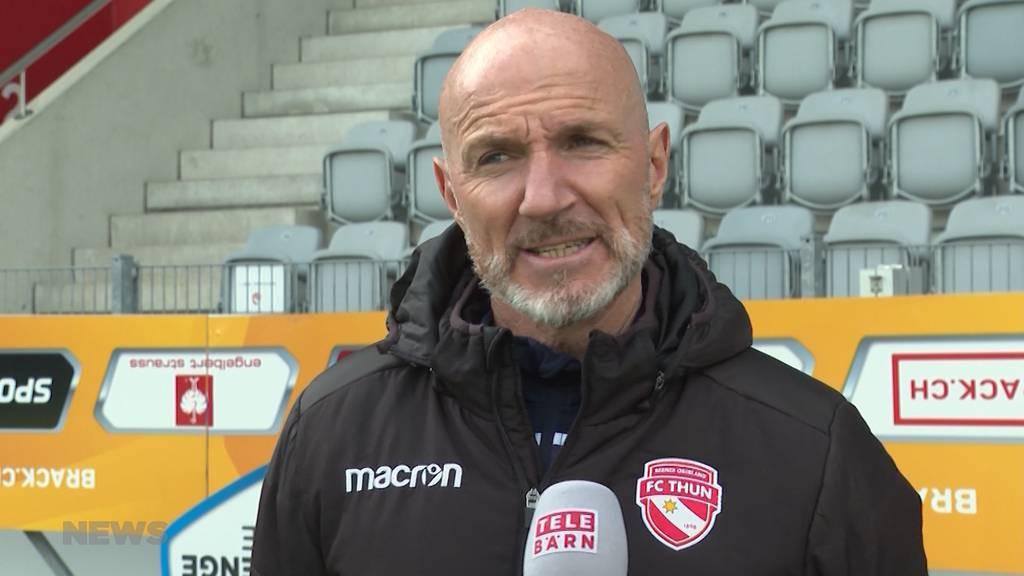 «Wir geben nicht auf»: FC Thun ist trotz Corona im Aufstiegskampf