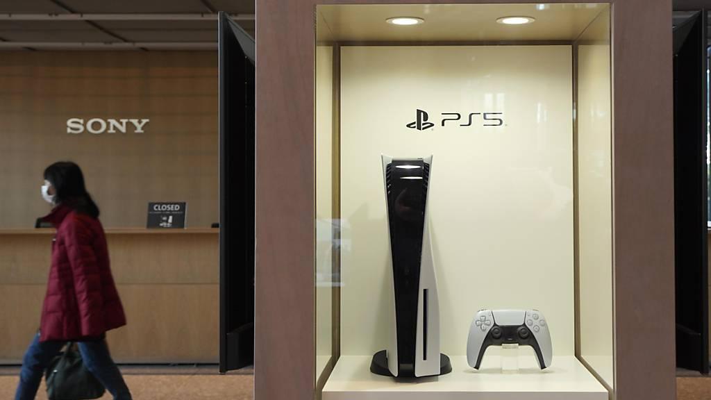 Starkes Quartal für Sony dank Playstation