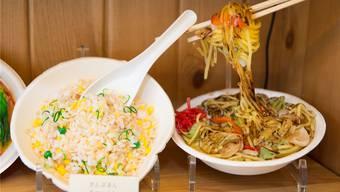 Sieht aus wie Essen – ist aber aus Kunststoff modelliert von Nagao.