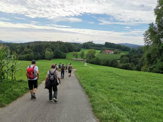Unterwegs auf dem Aargauer Aussichtsweg
