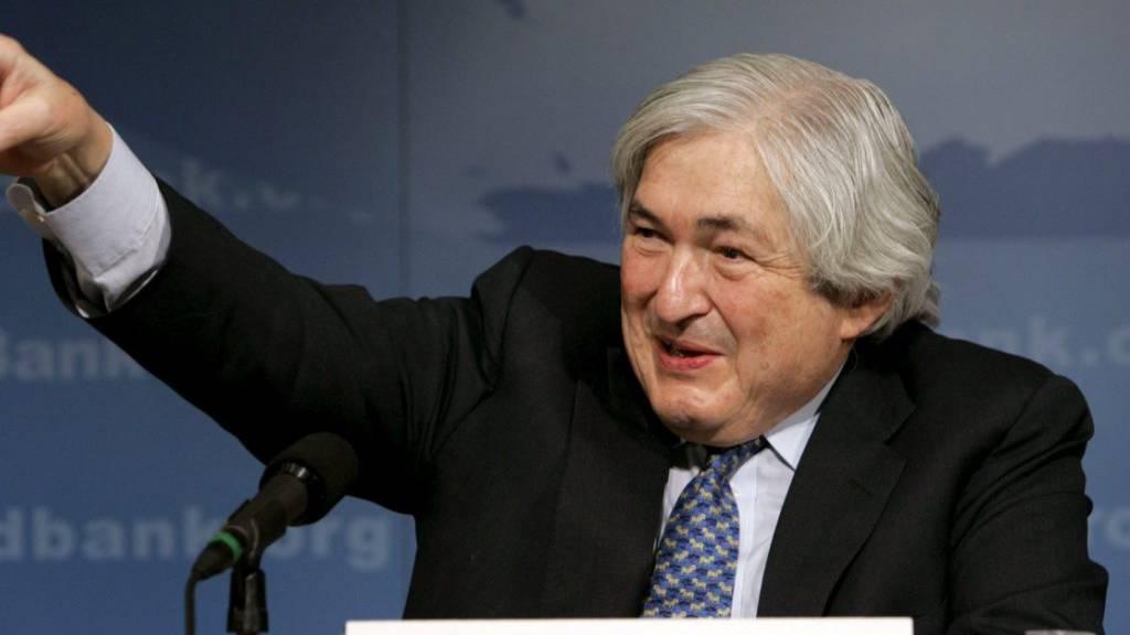Ex-Weltbank-Präsident Wolfensohn gestorben