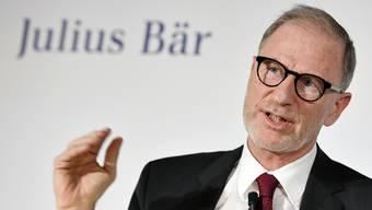 Vom Zeitpunkt seiner Ernennung überrascht: Bernhard Hodler, der neue Chef von Julius Bär.