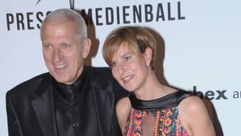 Nadja Ceregato-Vincenz mit Ehemann Pierin.