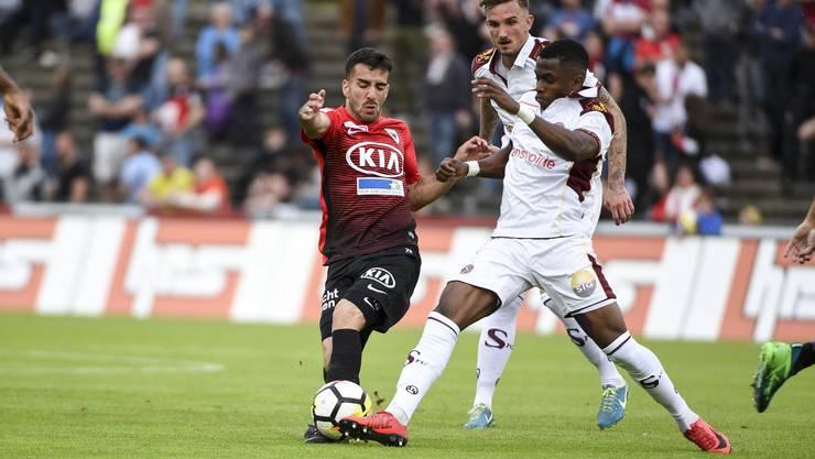 Der FC Aarau verliert gegen Servette mit 1:2