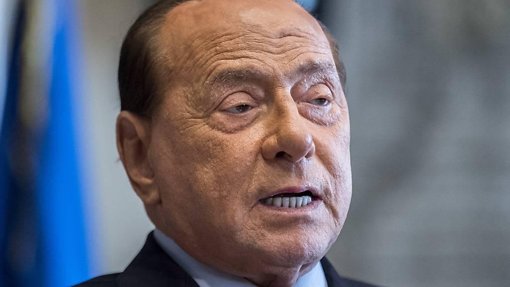ARCHIV - Silvio Berlusconi, ehemaliger Premierminister von Italien. Foto: Roberto Monaldo/LaPresse via ZUMA Press/dpa