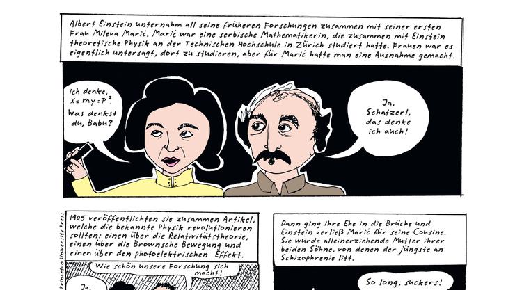 Liv Strömquist bringt Lebensgeschichten von Frauen auf den Punkt. Wer kennt Mileva Marić?