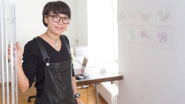 Daniel Kyong hat im Alten Spital ihre Arbeits- und Wohnstätte bezogen.