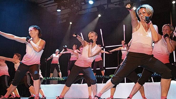 Die Turnershow des TV Sulz im Januar fand noch normal statt.