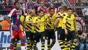 Dortmund entschied erstes Saisonduell gegen die Bayern für sich