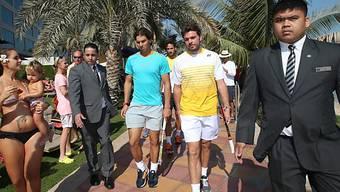 Wawrinka und Nadal sind in Abu Dhabi im Einsatz