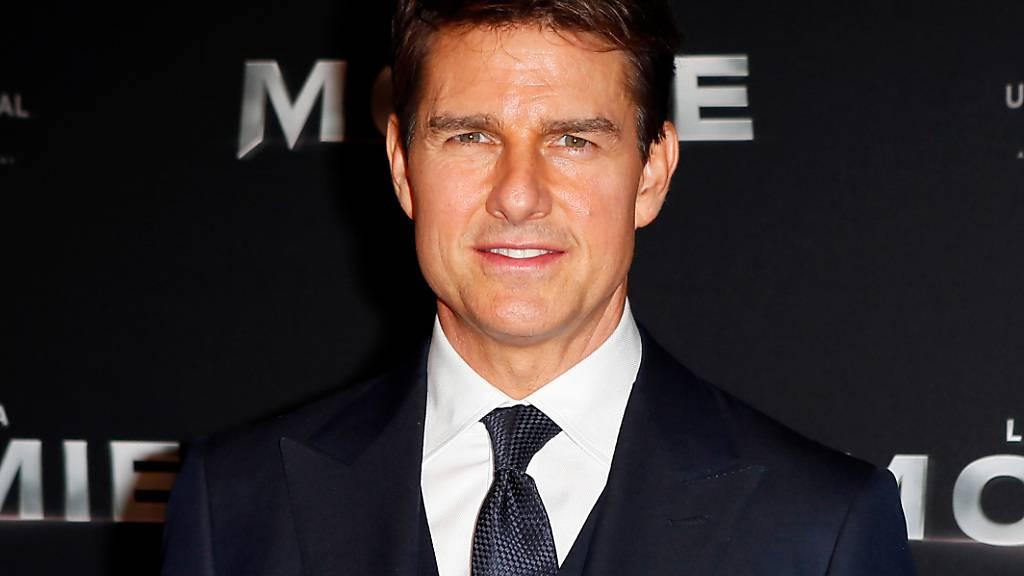 ARCHIV - Tom Cruise, Schauspieler aus den USA, kommt zur Premiere des Film «The Mummy» («Die Mumie»). (Archivbild) Foto: Francois Mori/AP/dpa