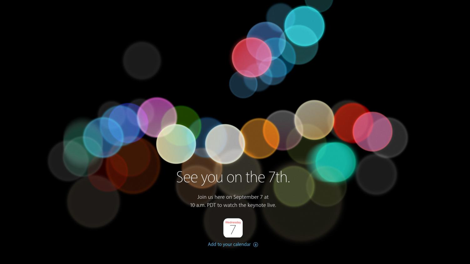 Vernetzt: Das neue iPhone 7 - was wir bis heute wissen