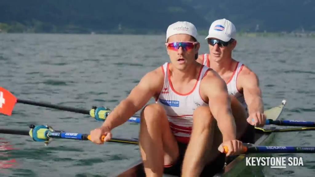 Schweizer Ruderer Röösli/Delarze träumen von Olympia-Gold