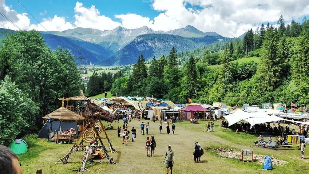 Das One Love Festival findet schon seit mehreren Jahren in Filisur statt.