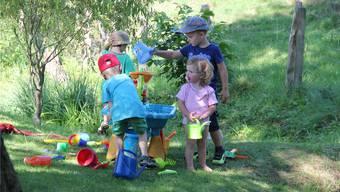 Hier können die Kinder einen neuen, privaten Spielplatz entdecken. zH