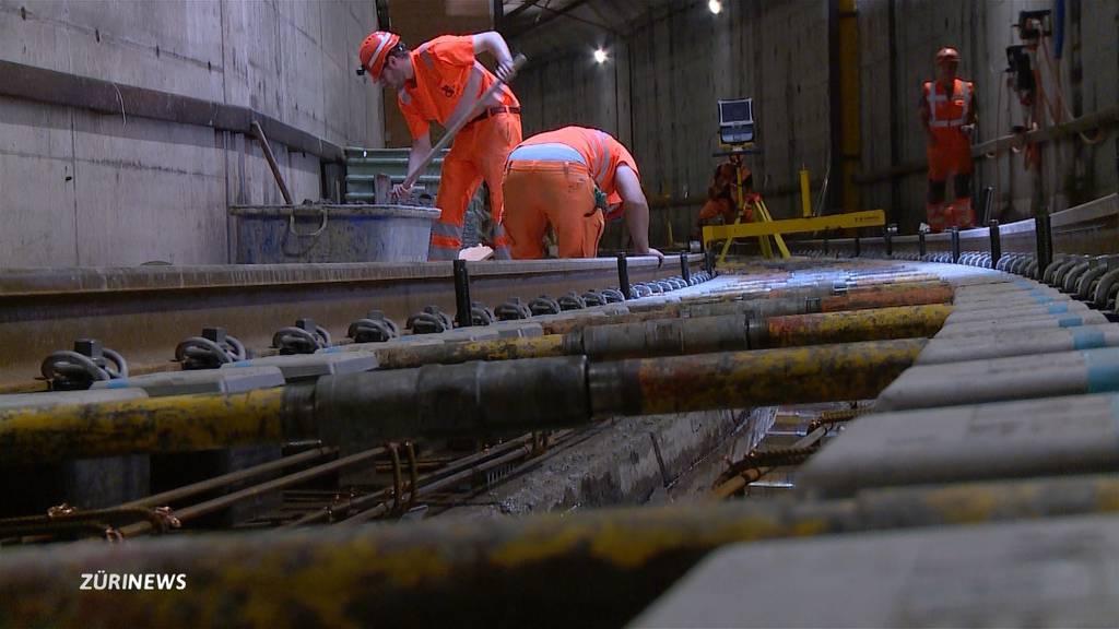 SZU-Tunnel wegen Sanierung gesperrt