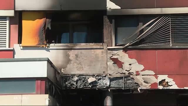 Brand in Zuchwil: Bewohner mussten evakuiert werden