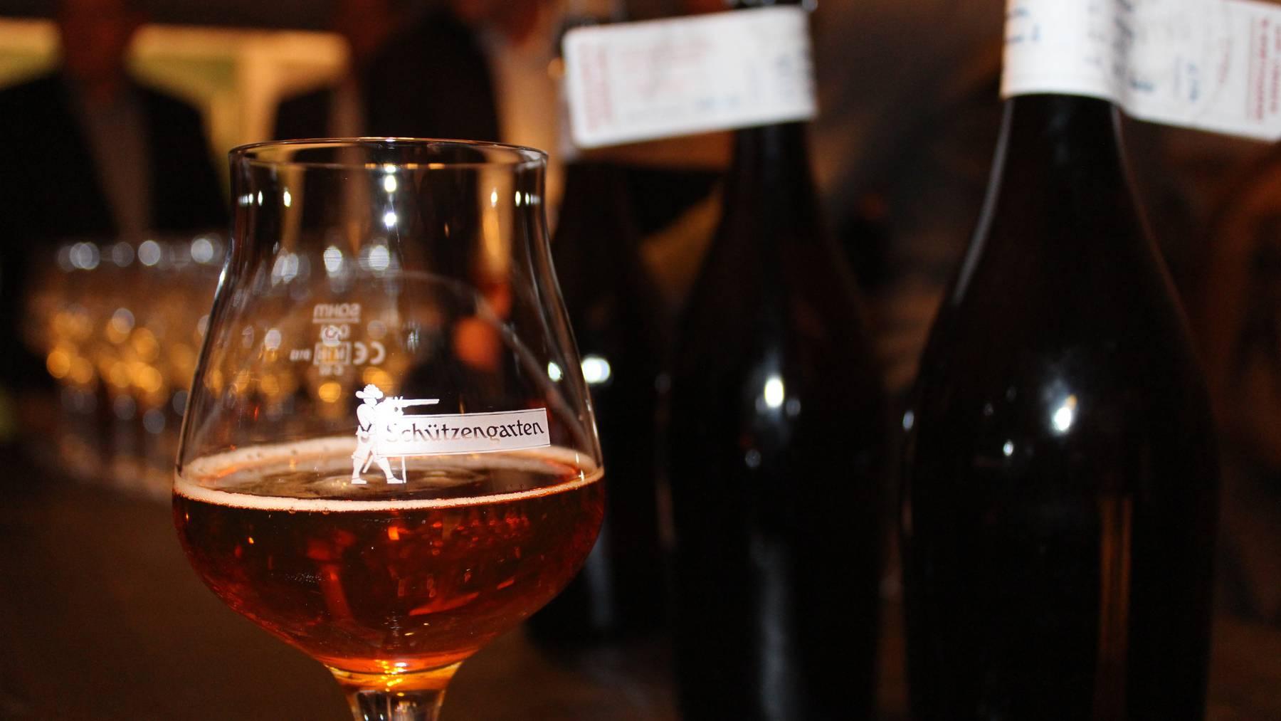 Schweizer Biermarkt wächst um 1,0 Prozent.