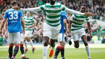 Odsonne Edouard feiert den 49. Meistertitel von Celtic Glasgow