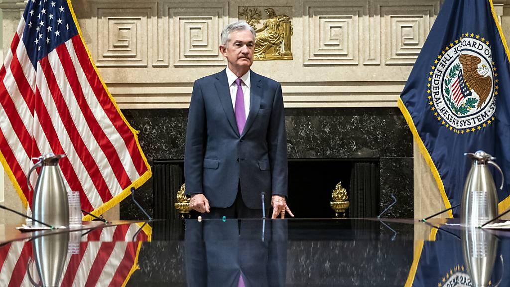 Fed-Mitglieder halten aktuelles Zinsniveau für angemessen