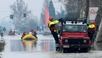 Überschwemmungen in Norditalien (Dezember 2017)