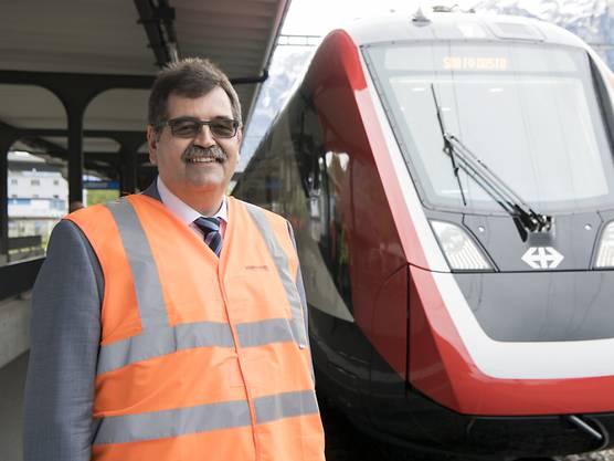 Der Chef von Bombardier Schweiz, Stéphane Wettstein, verteidigt seinen neuen Doppelstockzug.