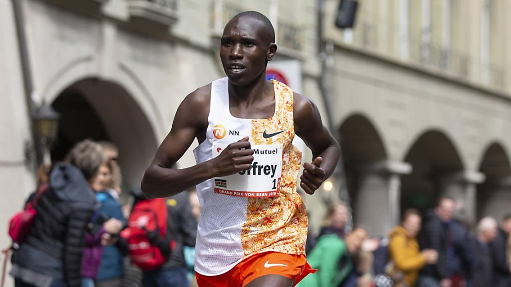 Kenianer Kamworo stellt Weltrekord im Halbmarathon auf