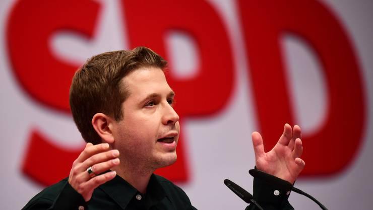 «Ich nehme nicht wahr, dass irgend einer Oppositionssehnsucht in sich trägt», Kevin Kühnert Juso-Vorsitzender.