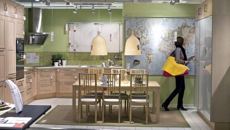 Die Ikea-Filiale in Spreitenbach AG war das erste Einkaufszentrum des schwedischen Möbelunternehmens ausserhalb Skandinaviens.