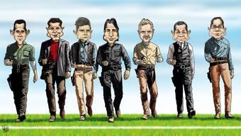Die glorreichen Sieben des FC Basel