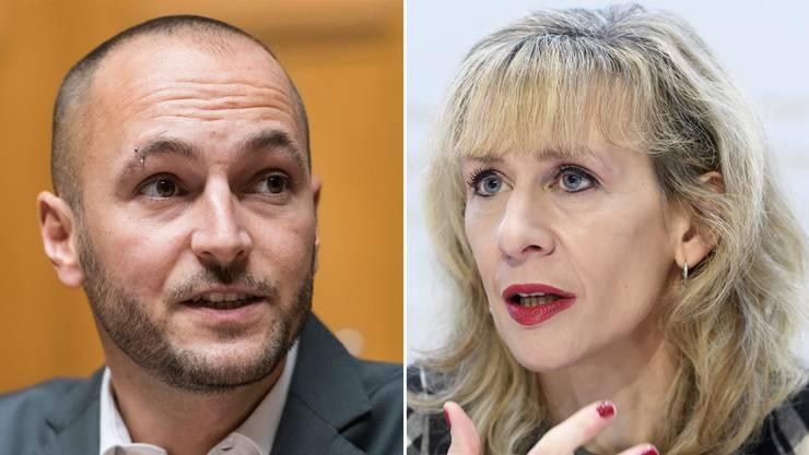 Die Zürcher Nationalrätin Priska Seiler Graf und der Unterwalliser Nationalrat Mathias Reynard bewerben sich gemeinsam für die Nachfolge von SP-Präsident Christian Levrat.