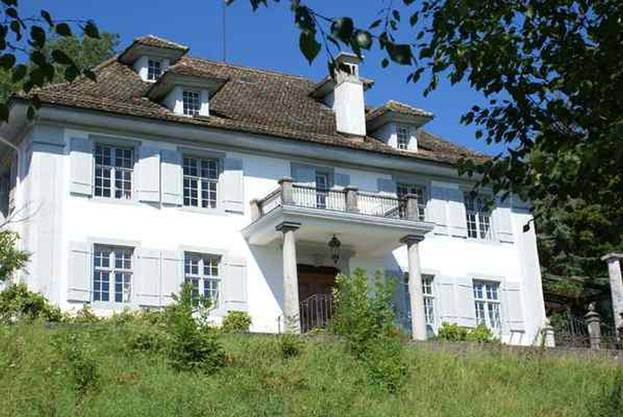 Der Sparrenberg ist der bedeutendste alte Landsitz im Limmattal.