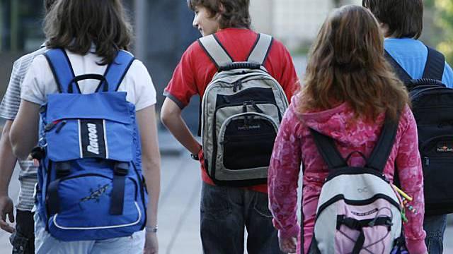 Kinder profitieren auf dem Schulweg auch in sozialer Hinsicht (Archiv)