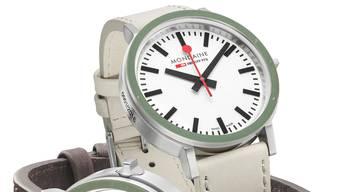 Die neue Gottardo-Uhr von Mondaine kostet 750 Franken.