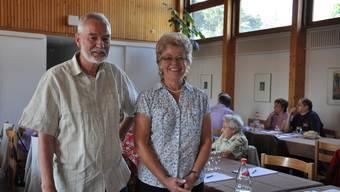 Präsidentin Susanna Grossenbacher und Vizepräsident Hansruedi Freudiger sind stolz auf das 50-Jahr-Jubiläum des Verbands.  atg