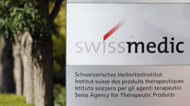 Swissmedic in Bern. Das Institut geht gegen eine Firma vor. (Archiv)