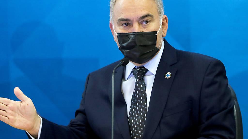 Nach UN-Besuch: Brasiliens Gesundheitsminister erneut Corona-positiv