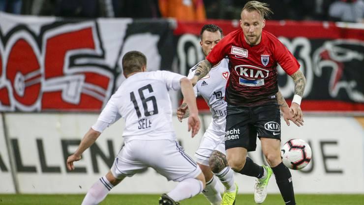 Neumayr war für den FCA in Lausanne goldwert – spielt er auch im Heimspiel gegen Vaduz gross auf?