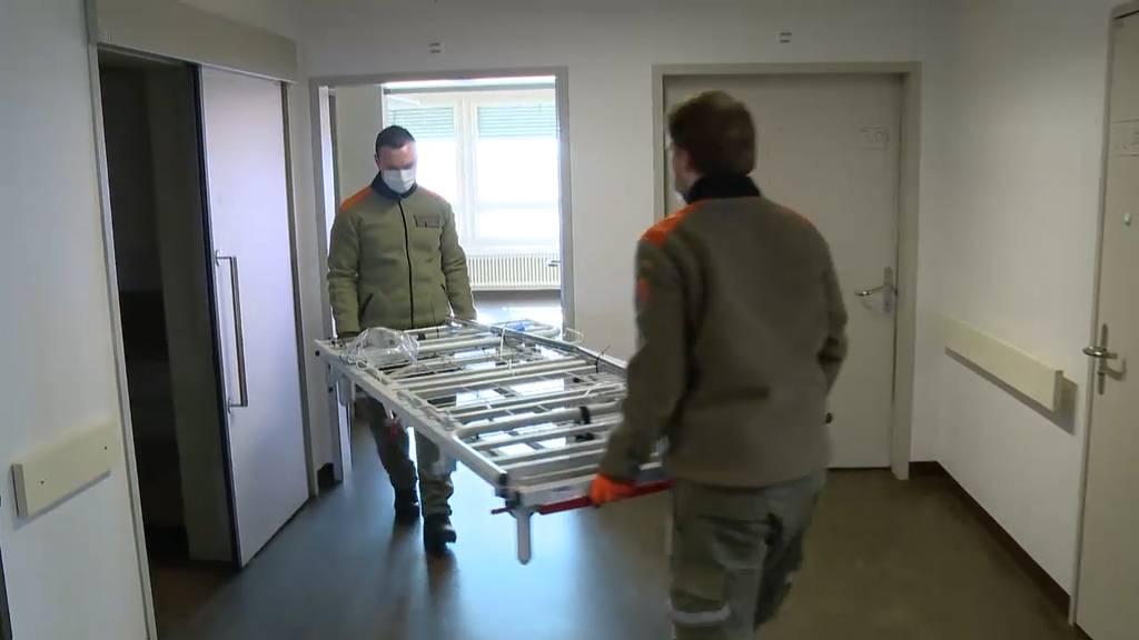 +41 Spezial: Einblick ins neue Covid-Zentrum Frauenfeld