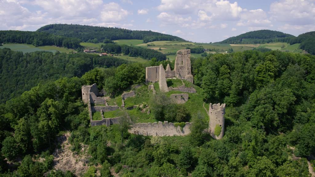 Mystische Ruinen und ein berühmter Baum mit einer schaurigen Geschichte: Wandern im Jurapark Aargau