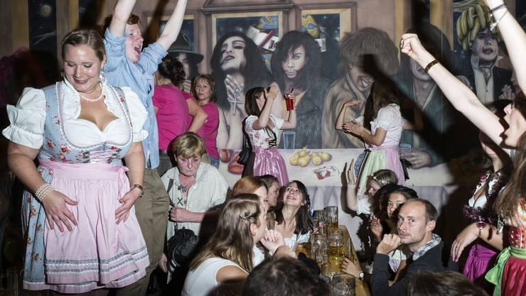 Am Freitag war der zweitletzte Tag des Oktoberfestes im Allschwiler Zic Zac.