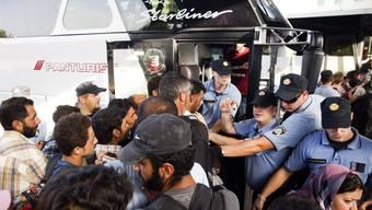 Flüchtlingskrise in Europa am 18. September 2015