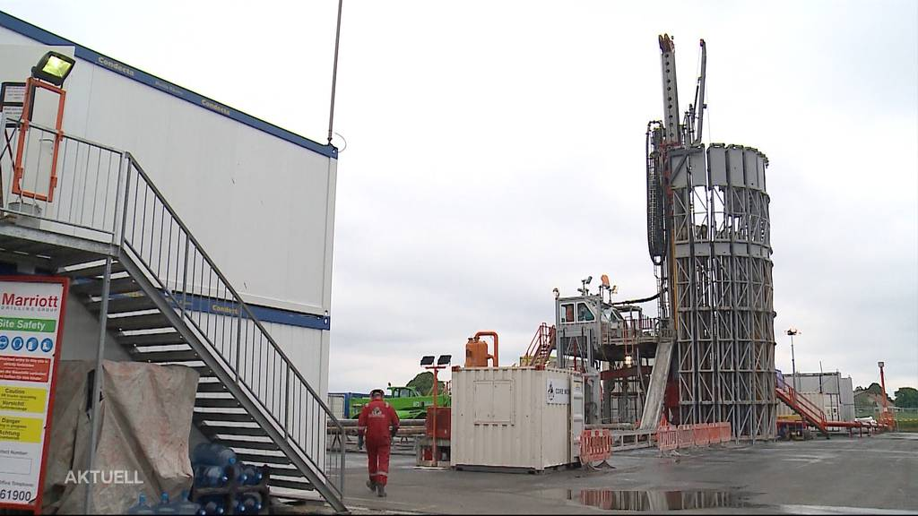 Trotz Widerstand laufen am Bözberg erste Sondierbohrungen für allfälliges Atom-Endlager